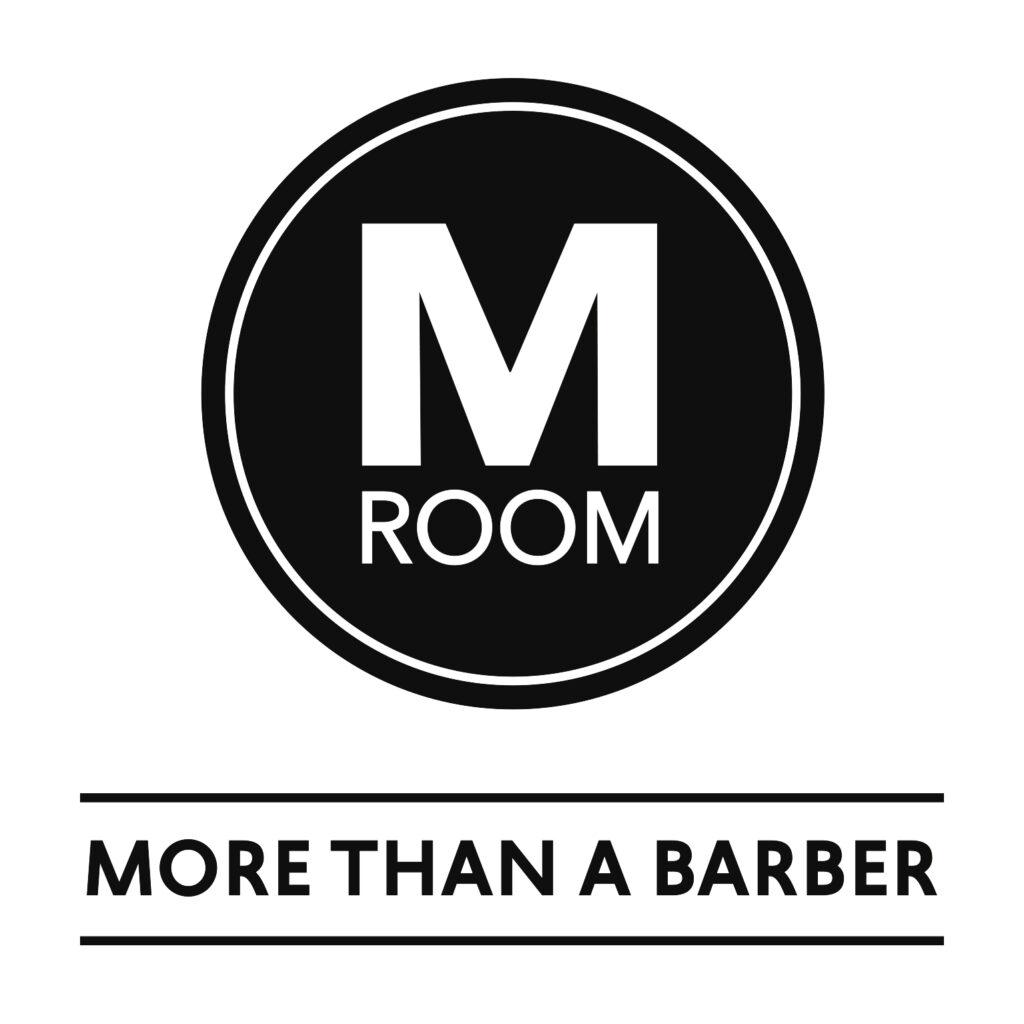 M Room logo + Slogan