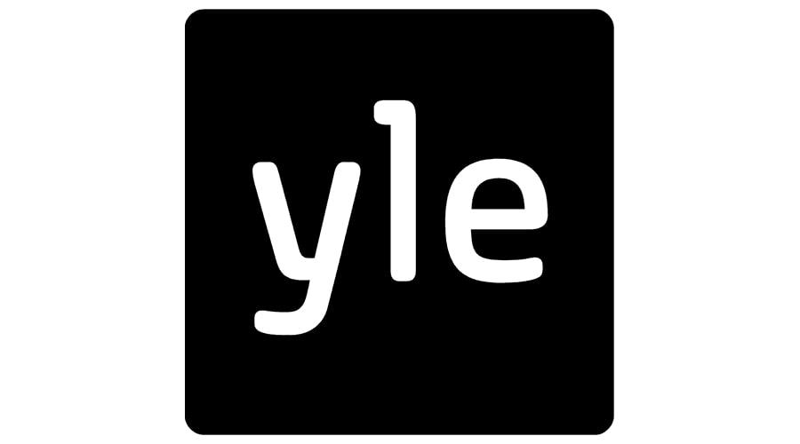 Yle musta logo